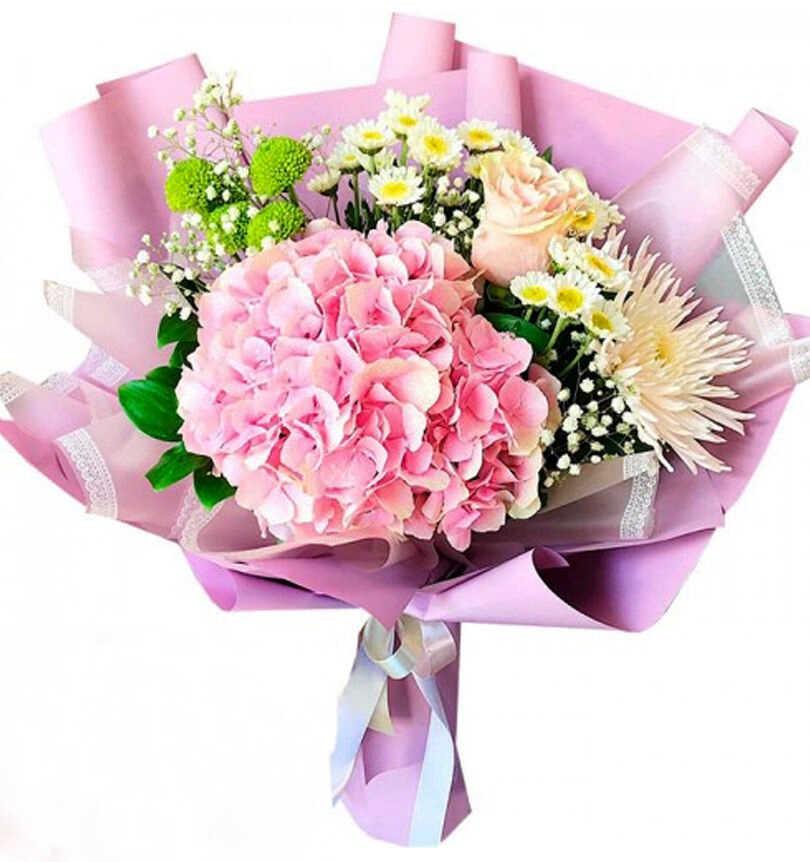 букет цветов в подарок на день рождения с доставкой на дом