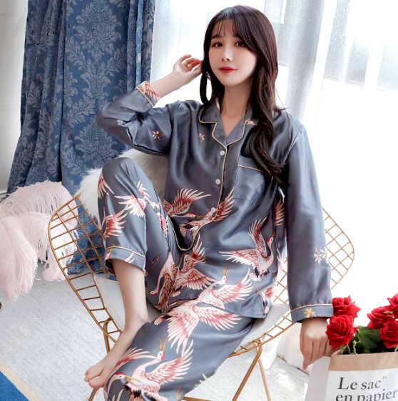 купить шелковую пижаму