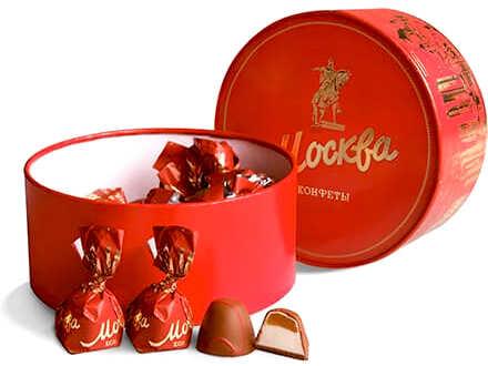 купить шоколадные конфеты ручной работы в красной коробке